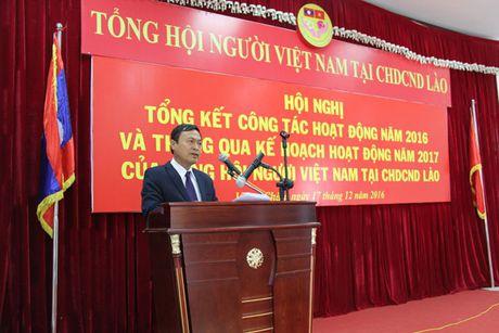 Tong hoi nguoi Viet Nam tai Lao, Thai-lan va Cam-pu-chia tang cuong hop tac - Anh 1