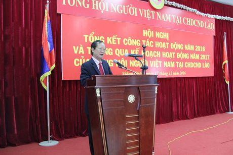 Tong hoi nguoi Viet Nam tai Lao, Thai-lan va Cam-pu-chia tang cuong hop tac - Anh 2
