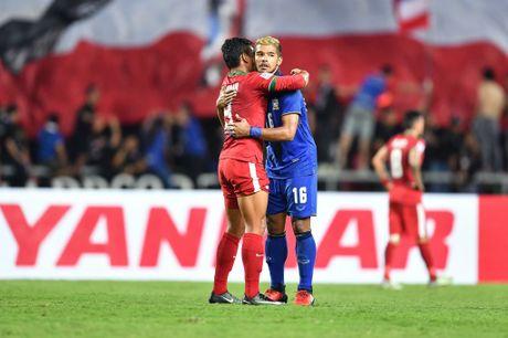 Thai Lan an ui cau thu Indonesia sau chung ket AFF Cup - Anh 2