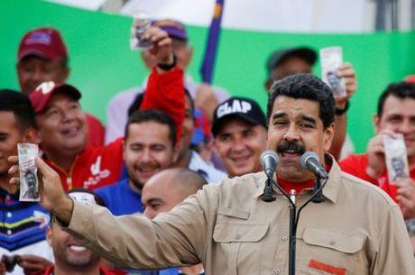 Bat on gia tang, Venezuela bat ngo hoan viec doi tien - Anh 1