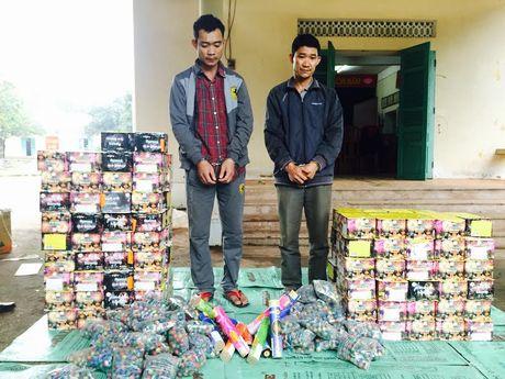 Quang Binh: Bat vu van chuyen phao lau tinh vi, lon nhat trong nam - Anh 1