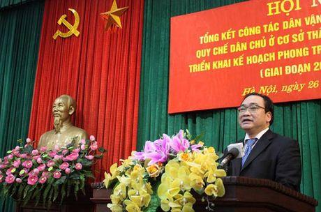 Bi thu Thanh uy Ha Noi Hoang Trung Hai: Bo Quy tac ung xu 'khong bat buoc' - Anh 1