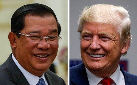 Thu tuong Hun Sen keu goi Donald Trump xoa no cho Campuchia - Anh 1