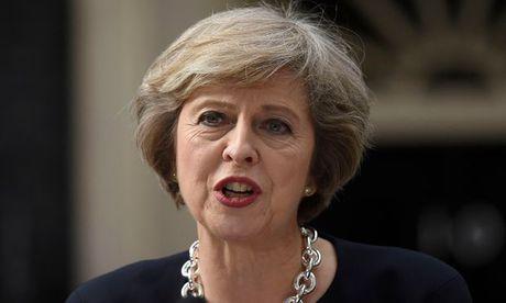 Dong bang Anh giam manh sau phat bieu cua Thu tuong Theresa May - Anh 1