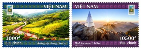 Phat hanh Bo tem dac biet 'Nam Du lich quoc gia 2017 Lao Cai -Tay Bac' - Anh 1