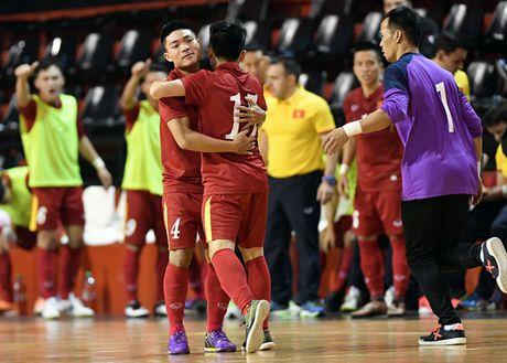 Tuyen futsal Viet Nam nam chung bang voi Thai Lan o giai Dong Nam A 2017 - Anh 1