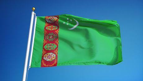Dien mung Tong thong Turkmenistan - Anh 1
