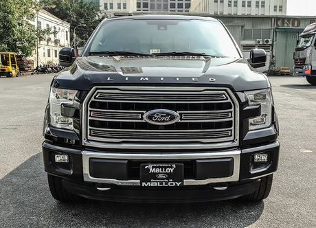 Ford F-150 Limited 2017 hop so 10 cap ve Viet Nam - Anh 5
