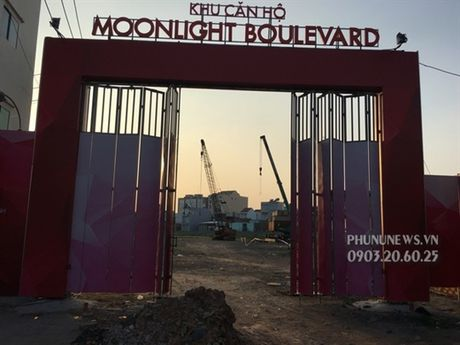 Tien do du an can ho Moonlight Boulevard quan Binh Tan T2/2017 - Anh 2