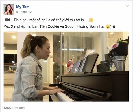 My Tam xin phep Tien Cookie va Soobin Hoang Son de cover 'Phia sau 1 co gai' - Anh 1