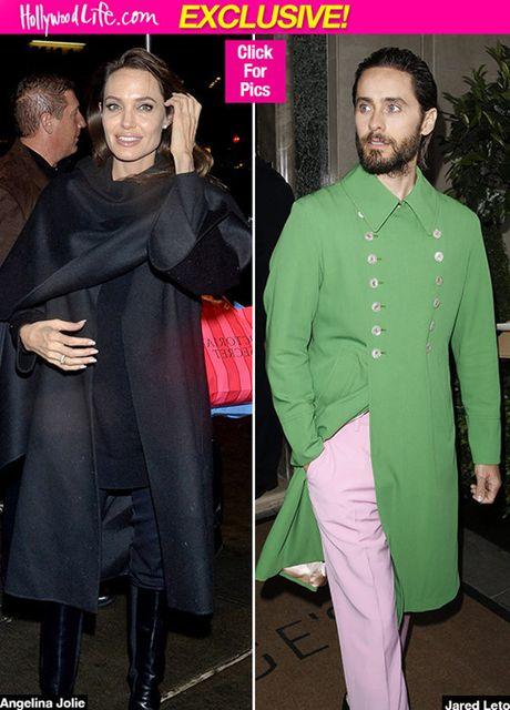 Angelina Jolie hen ho Jared Leto, Brad Pitt phan ung the nao? - Anh 1