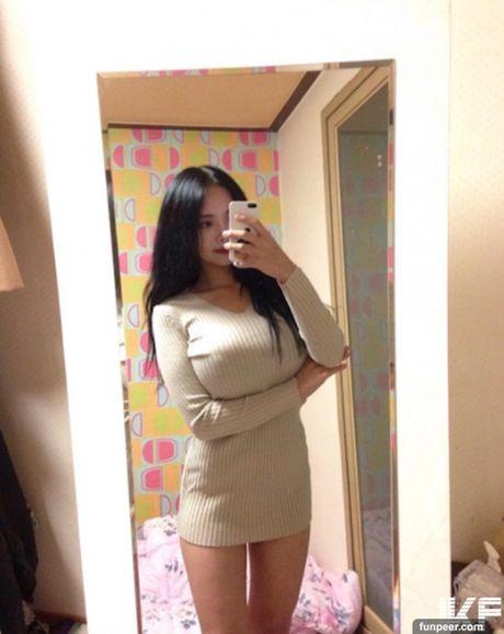 Hot girl co vong 1 tu nhien khung nhat he lo ly do khong mac ho hang - Anh 7