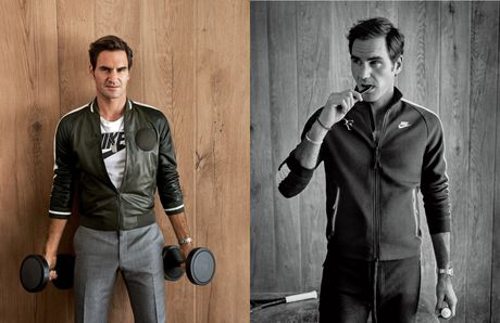 Federer xuat hien goi cam tren tap chi thoi trang - Anh 5