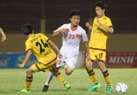 U19 Viet Nam vs U19 Gwangju, 18h30 ngay 22/4: Quyet dau de vo dich - Anh 1
