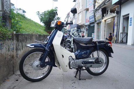 Honda Cub C70 'thet gia' gan 100 trieu tai Ha Noi - Anh 1