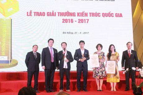 Vinh danh cac cong trinh Kien truc quoc gia xuat sac nam 2016 - 2017 - Anh 1