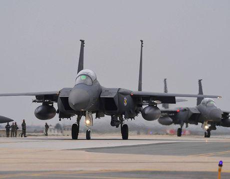 100 may bay My-Han tap tran trong luc cang thang voi Trieu Tien - Anh 6