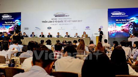 Chinh thuc gioi thieu Trien lam Oto Quoc te Viet Nam nam 2017 - Anh 1