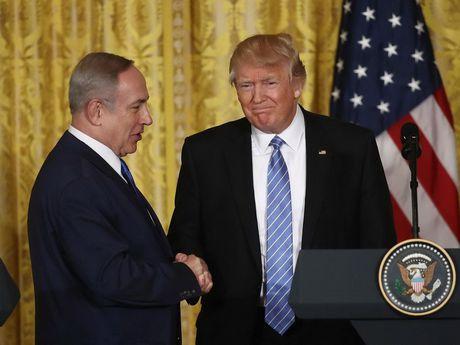 Lanh dao My, Israel dien dam ve vu ong Trump chia se tin cho Nga - Anh 1