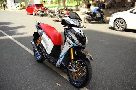 Can canh xe ga Honda SH150i 'khung' nhat Viet Nam - Anh 1