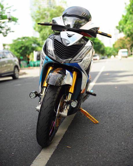 Can canh xe ga Honda SH150i 'khung' nhat Viet Nam - Anh 2