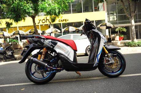 Can canh xe ga Honda SH150i 'khung' nhat Viet Nam - Anh 4