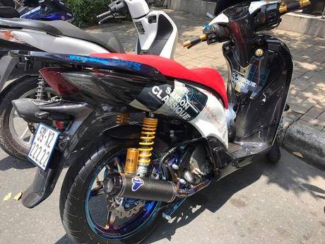 Can canh xe ga Honda SH150i 'khung' nhat Viet Nam - Anh 7