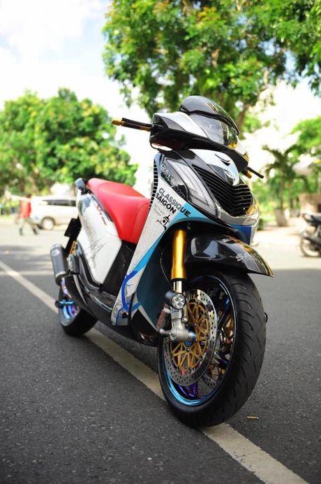 Can canh xe ga Honda SH150i 'khung' nhat Viet Nam - Anh 8