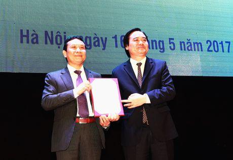PGS.TS Nguyen Hong Son giu chuc Pho Giam doc DHQG Ha Noi - Anh 1
