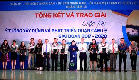Hon 130 y tuong xay dung va phat trien Q. Cam Le giai doan 2017-2020 - Anh 1