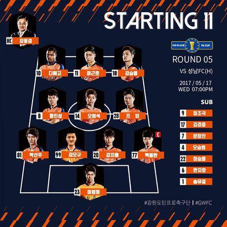 Xuan Truong mo nhat, Gangwon thua doi bong hang 2 - Anh 1