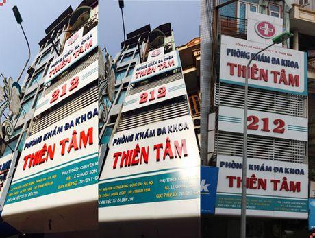 Nhieu sai pham, phong kham da khoa Thien Tam bi phat hon 40 trieu dong - Anh 1