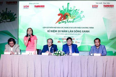 Chuoi su kien Lan Song Xanh 20 nam – hanh trinh am nhac Viet Nam - Anh 1