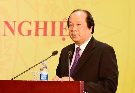 Bo truong Mai Tien Dung: Tao cho can bo hu, hong, doanh nghiep cung co loi - Anh 1
