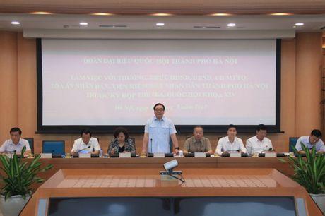 Bi thu Hoang Trung Hai: Xu ly nghiem lanh dao dia phuong neu de vi pham trat tu do thi - Anh 1