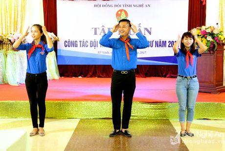 Tap huan ky nang cho doi vien khu dan cu - Anh 2