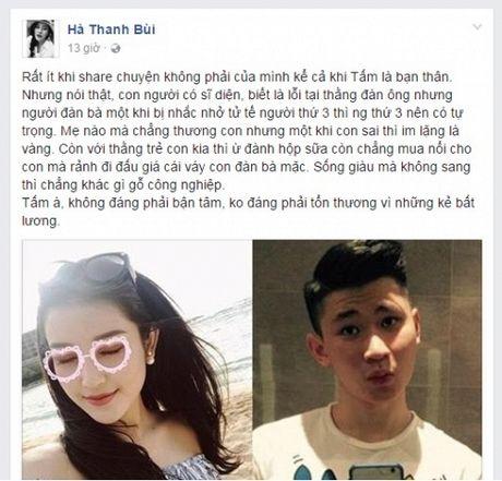 Ha Lade len tieng vu Huyen My: 'Khi bi nhac nho tu te thi nguoi thu 3 nen co tu trong…' - Anh 2