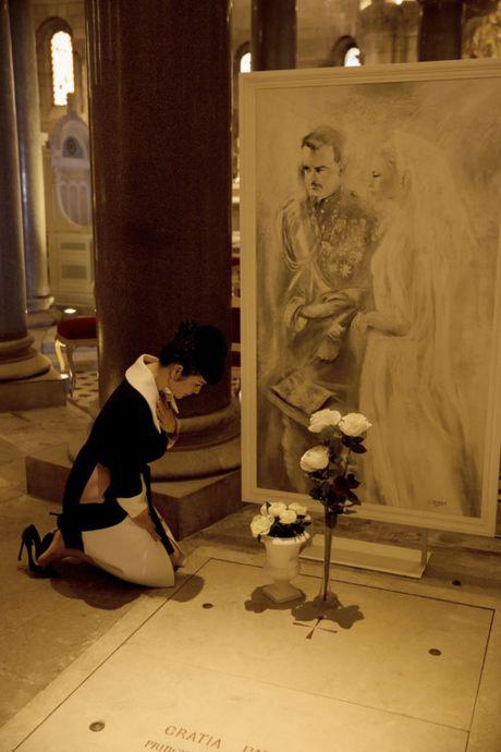 Vua den Phap, Ly Nha Ky voi den vieng mo Cong nuong Grace Kelly - Anh 9