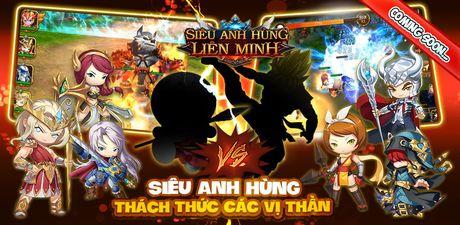Game mobile 'lau thap cam' Sieu Anh Hung Lien Minh ve Viet Nam - Anh 1