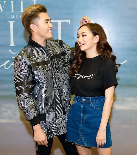 Kaity Nguyen cham soc Will truoc ong kinh truyen thong - Anh 5