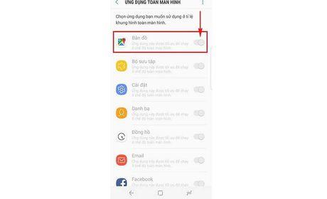 Huong dan kich hoat che do toan man hinh cho ung dung tren Galaxy S8 - Anh 4