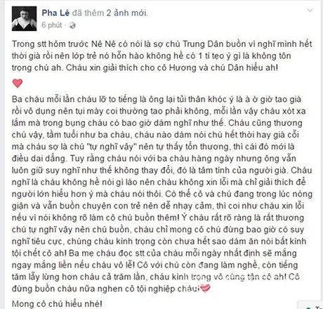 Pha Le buc xuc vi bi nghe si Xuan Huong mang - Anh 2