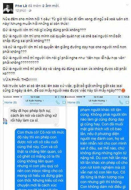 Pha Le buc xuc vi bi nghe si Xuan Huong mang - Anh 3