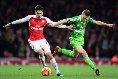 Ket qua tran Arsenal vs Sunderland, vong 37 Ngoai hang Anh - Anh 1