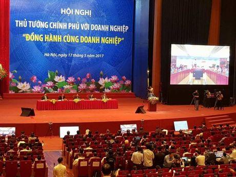 Bat dau 'Hoi nghi Dien Hong', Thu tuong doi thoai voi 2.000 doanh nghiep - Anh 2