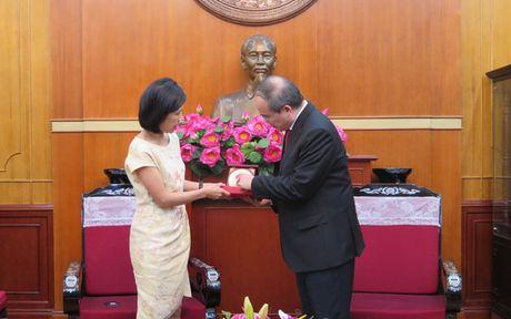 Ong Nguyen Thien Nhan tiep Dai su dac menh toan quyen Canada tai VN - Anh 2