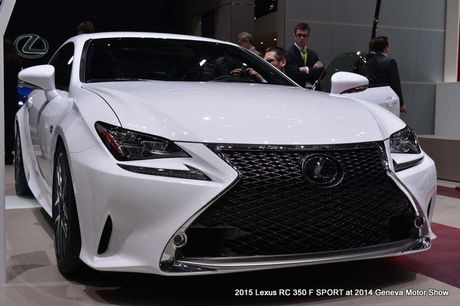 Lexus RC-F coupe tai An Do gia tu 6,9 ty dong - Anh 3