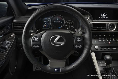 Lexus RC-F coupe tai An Do gia tu 6,9 ty dong - Anh 5