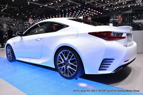 Lexus RC-F coupe tai An Do gia tu 6,9 ty dong - Anh 6