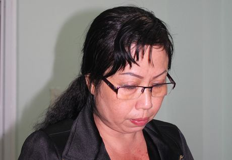 Nu giam doc doanh nghiep ban khong hoa don hang tram ti dong - Anh 1